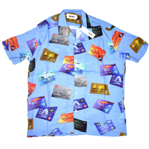 Palace - Contactless Credit Card Club Shirt (Blue)