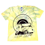 Online Ceramics - Let Go Now Tie Dye Logo T-Shirt