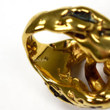 Tom Ford - Gold 'Nugget' Vintage Effect Ring