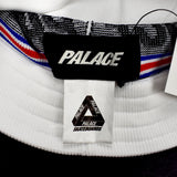 Palace - Knitty Logo Bucket Hat (White)