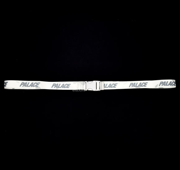Palace - Multicam Webber Logo Belt (White Camo)