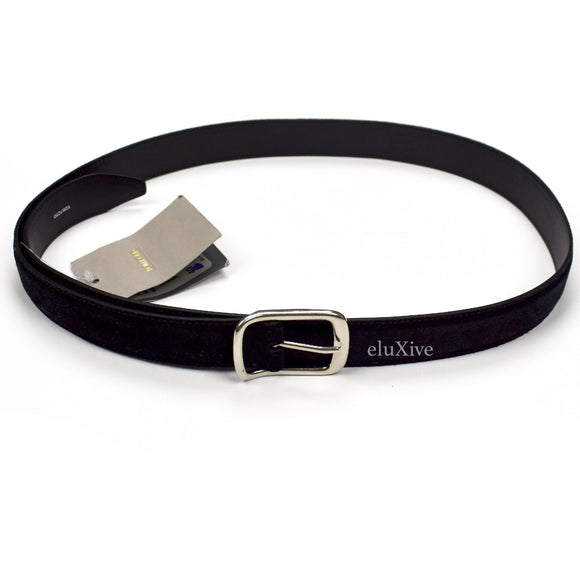 Tom Ford - Black Suede Belt