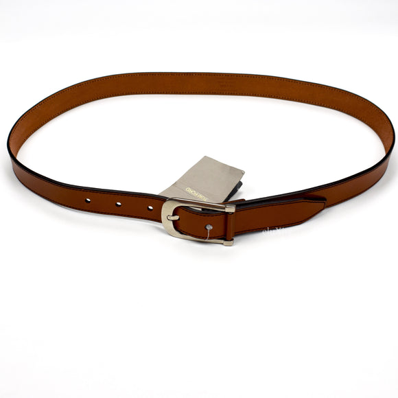 Tom Ford - Brown Vintage Leather Belt