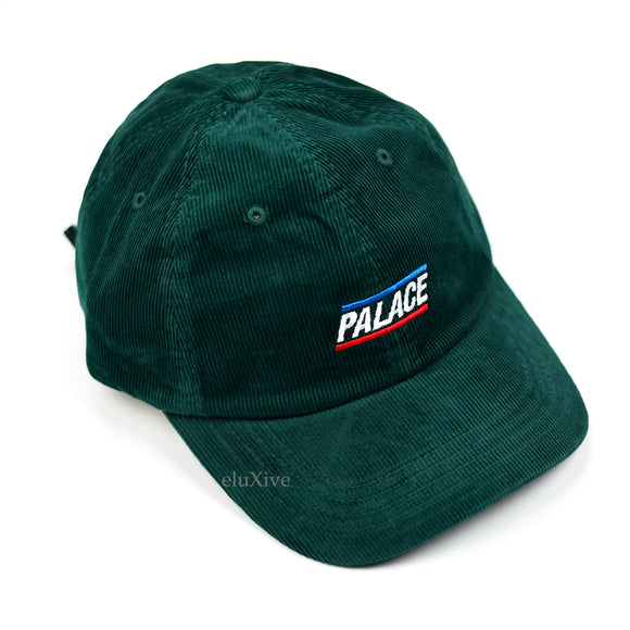 Palace - Basically A Corduroy Hat (Dark Green)