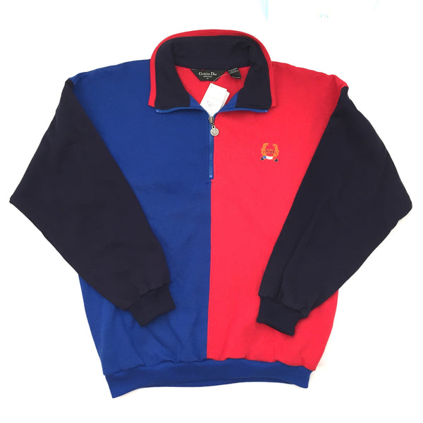 Dior - 90's Color Block Track Jacket