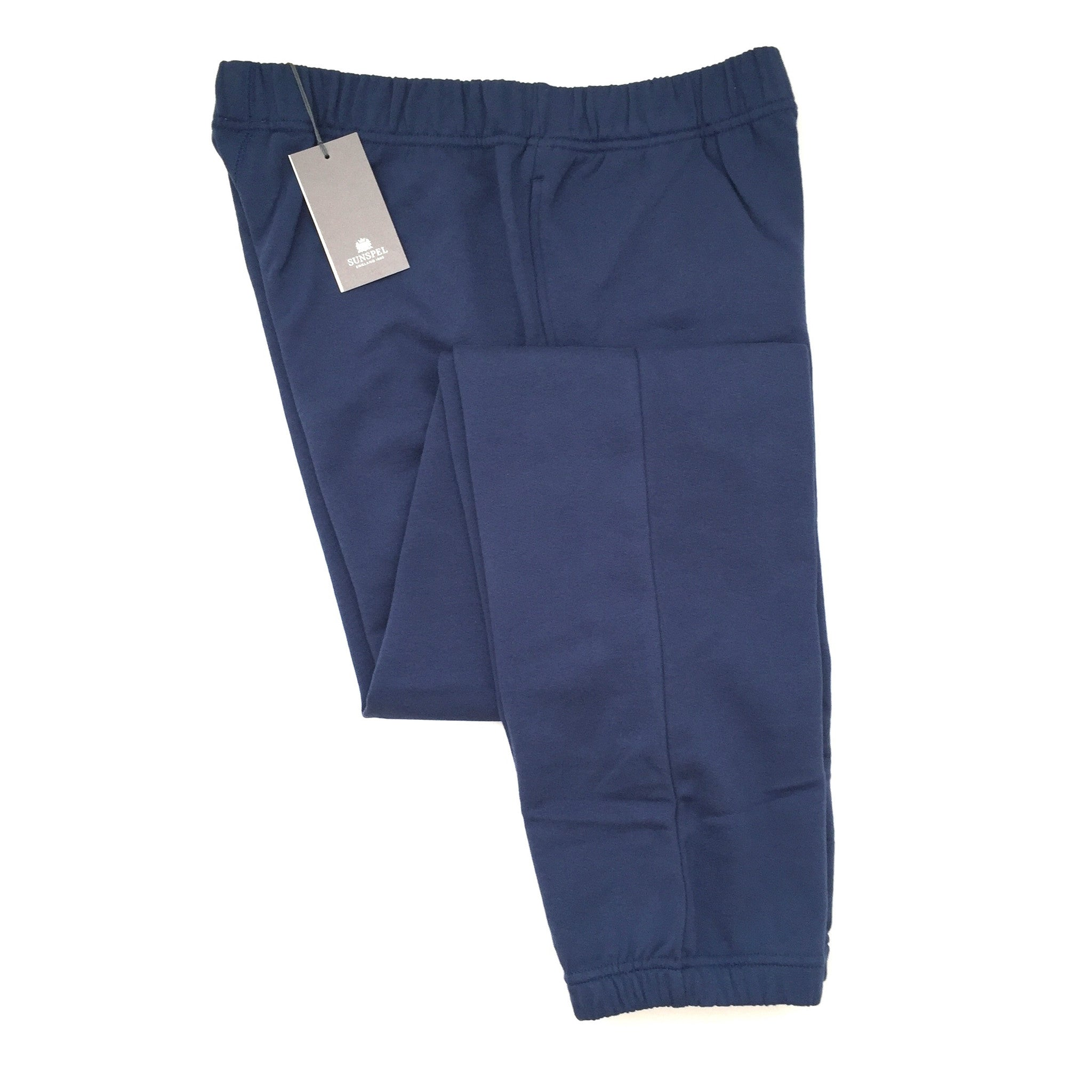 Sunspel - Blueberry French Terry Pants