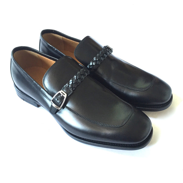 Gucci - Black Leather Goodyear Loafers