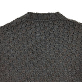 Dolce & Gabbana - Chain Mail Heavy Knit Sweater