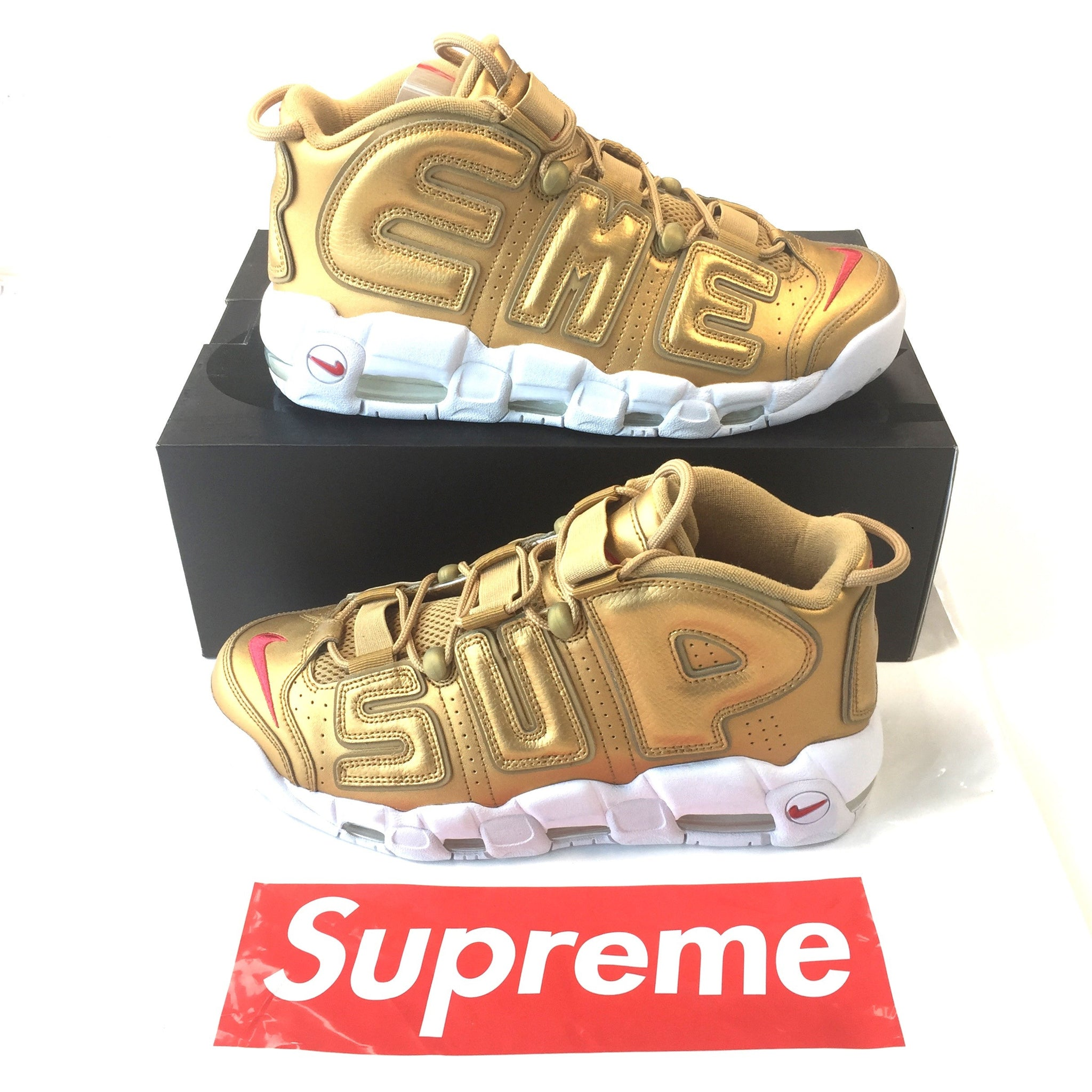 newest 9311d 529f0 ... Gold · Supreme x Nike - Air More Uptempo  Suptempo  ...