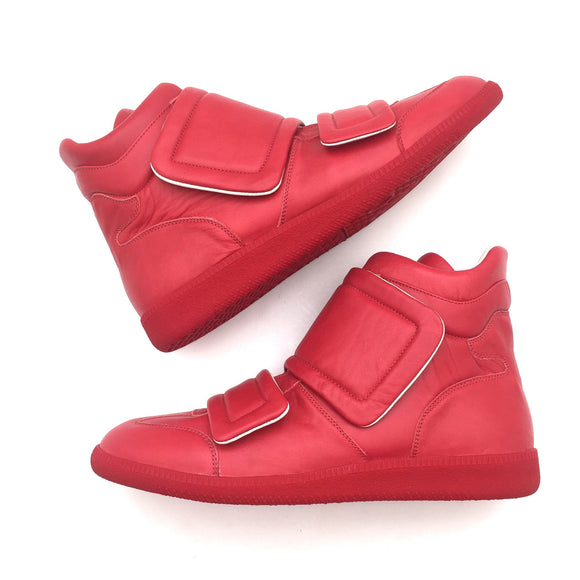Maison Margiela - Red High Top Sneakers