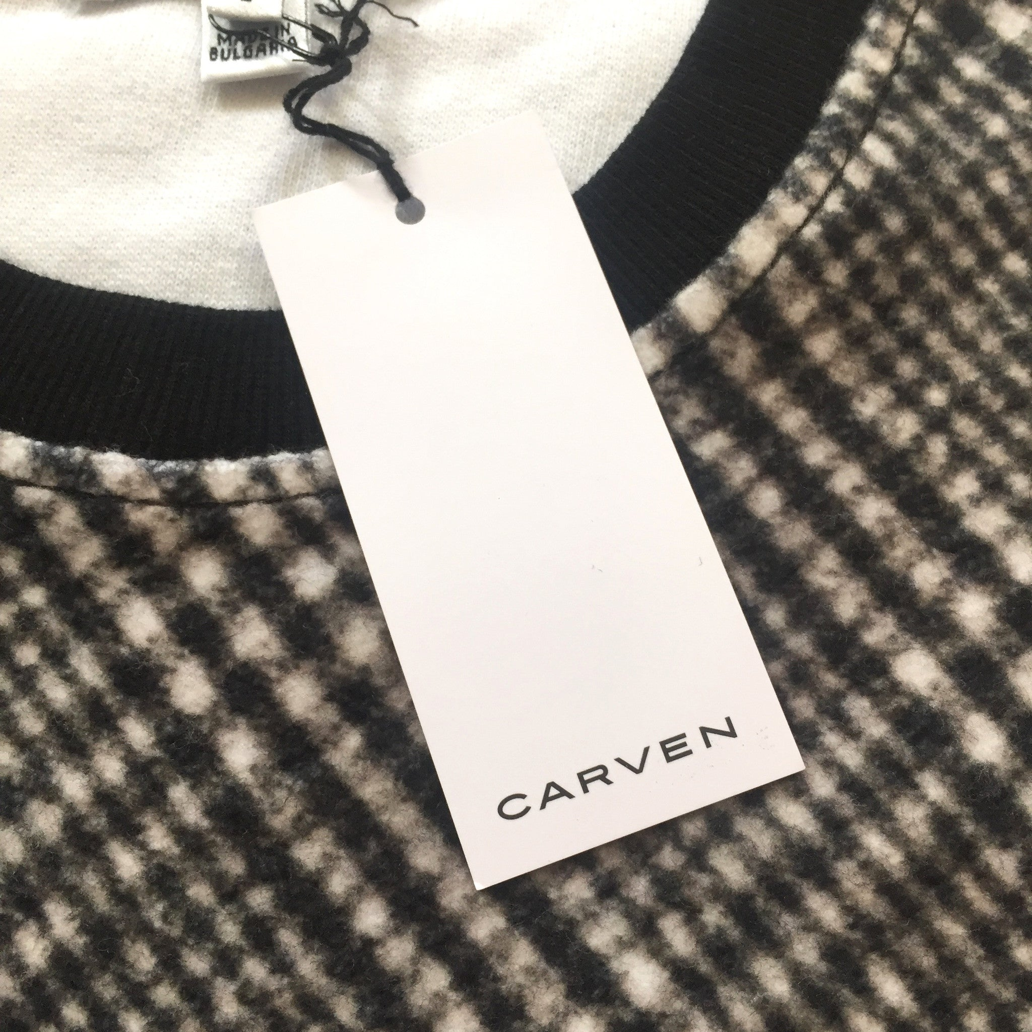 Carven - Tartan Tape Embroidered Sweatshirt