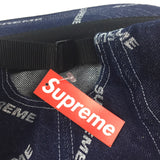 Supreme - Blue Denim Box Logo Hat