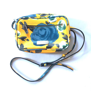 Marc Jacobs - Yellow Floral Print Crossbody Bag
