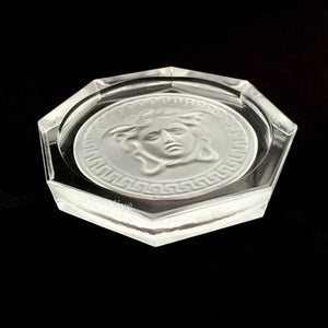 Versace - Crystal Medusa Coaster / Ashtray