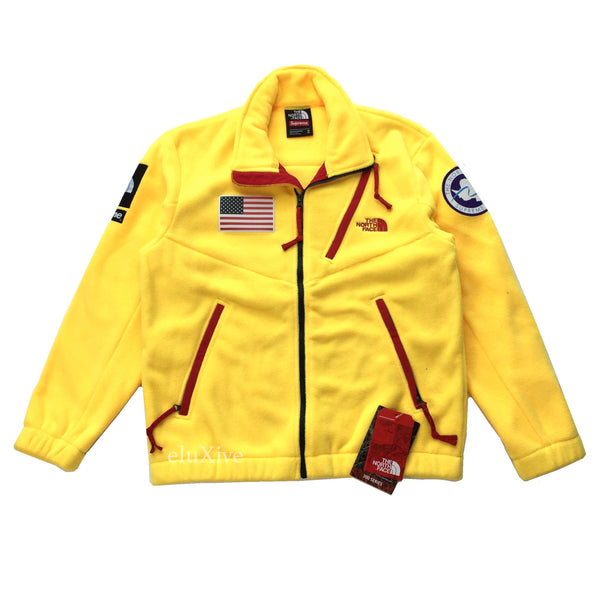 Supreme x The North Face - Yellow Trans Antarctica Expedition Fleece