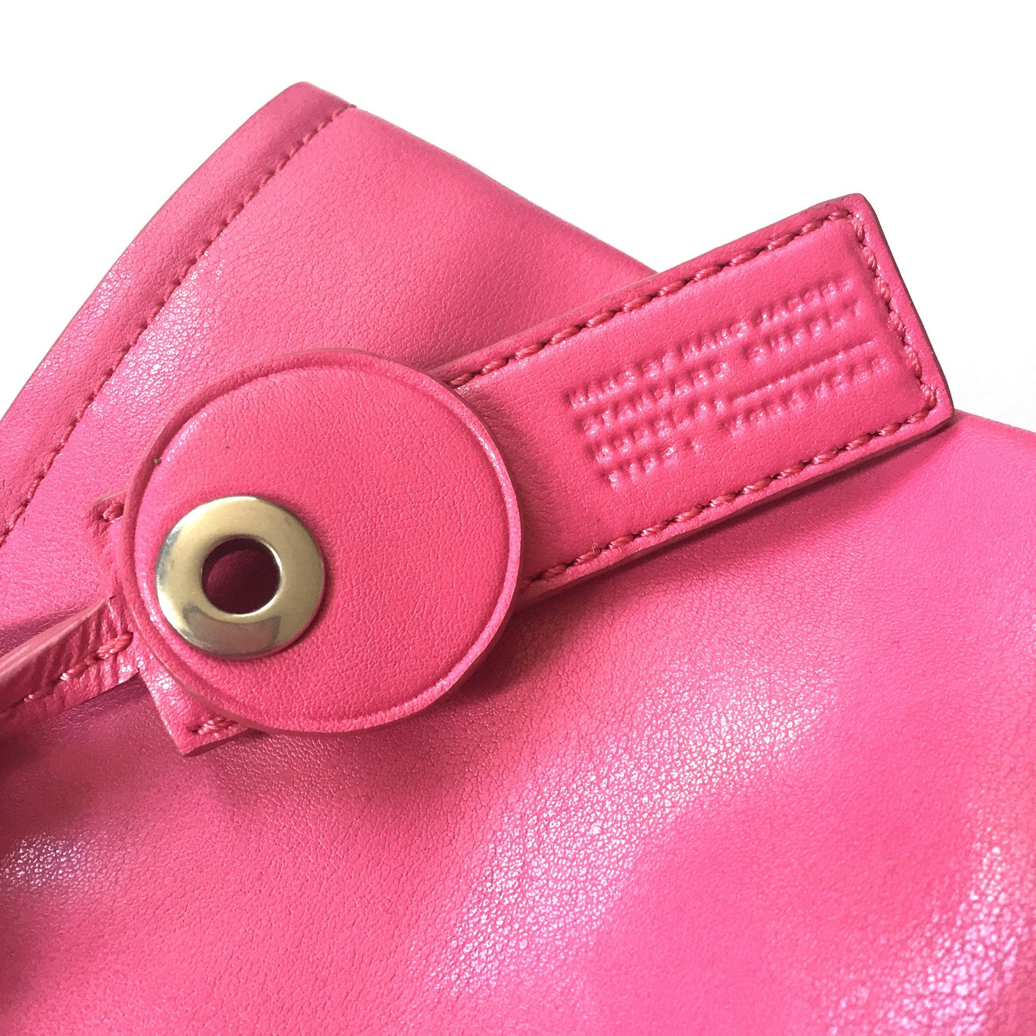 Marc Jacobs - Lipstick Pink Leather Handbag