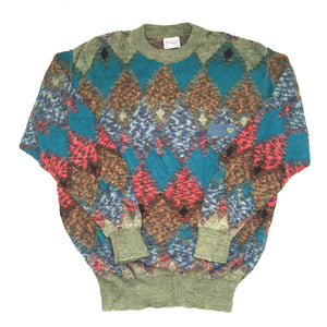 MCM - 90's Abstract Knit Sweater