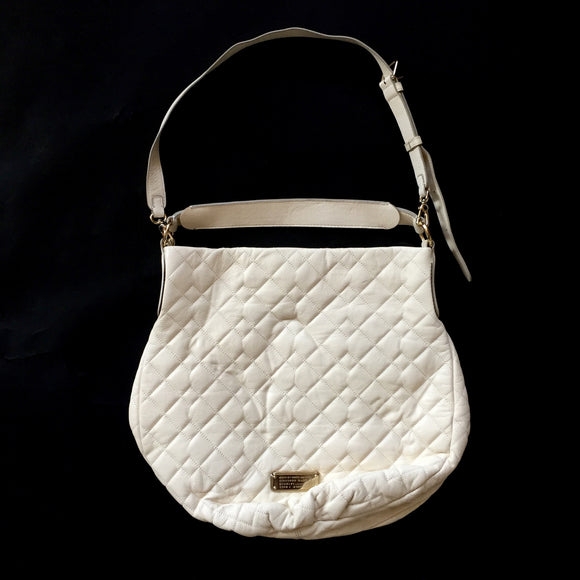 Marc Jacobs - Quilted Cream Leather Handbag