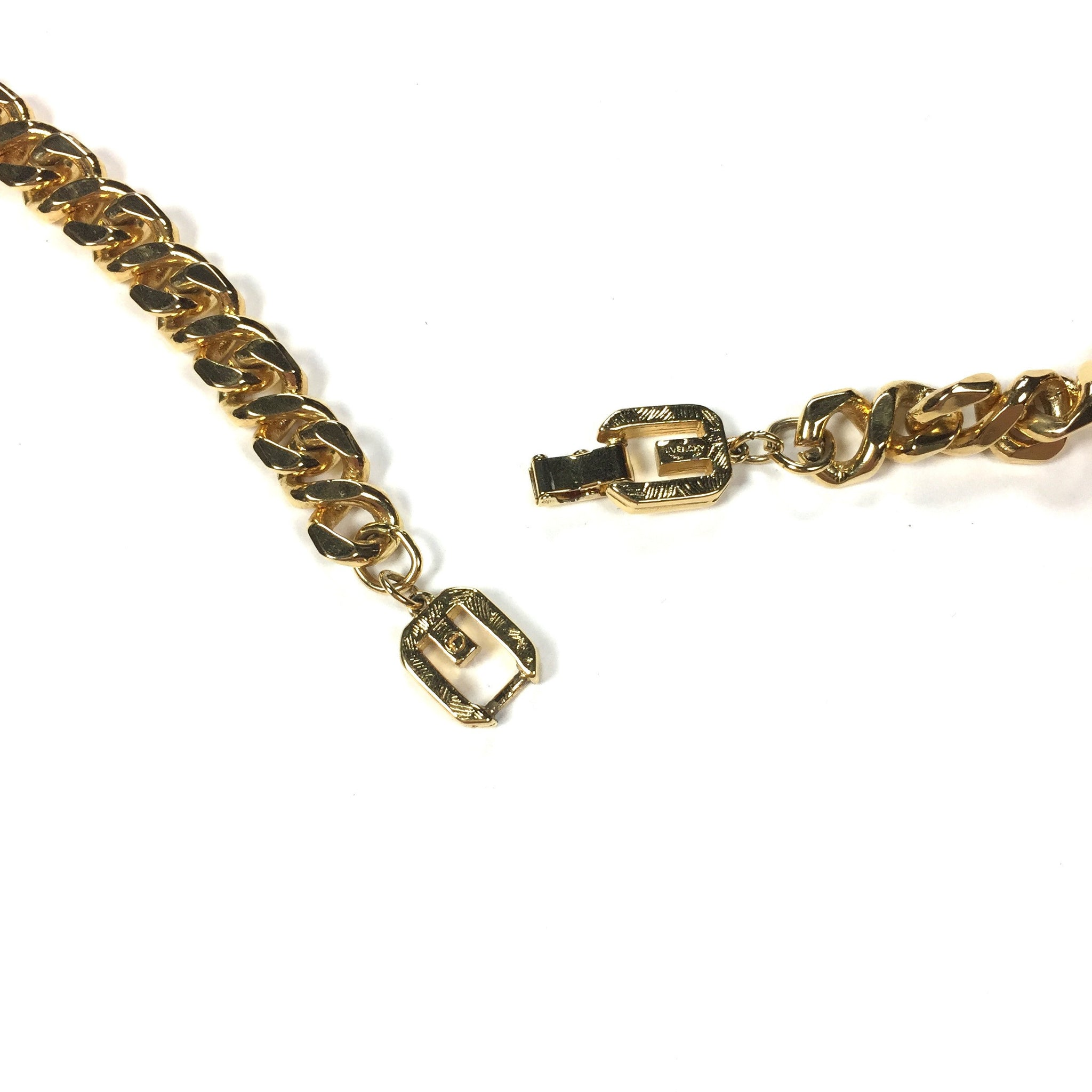 "Givenchy - 37"" Gold Chain Necklace"