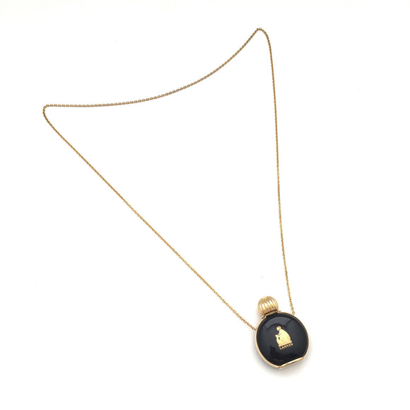 Lanvin - Black & Gold Bottle Chain