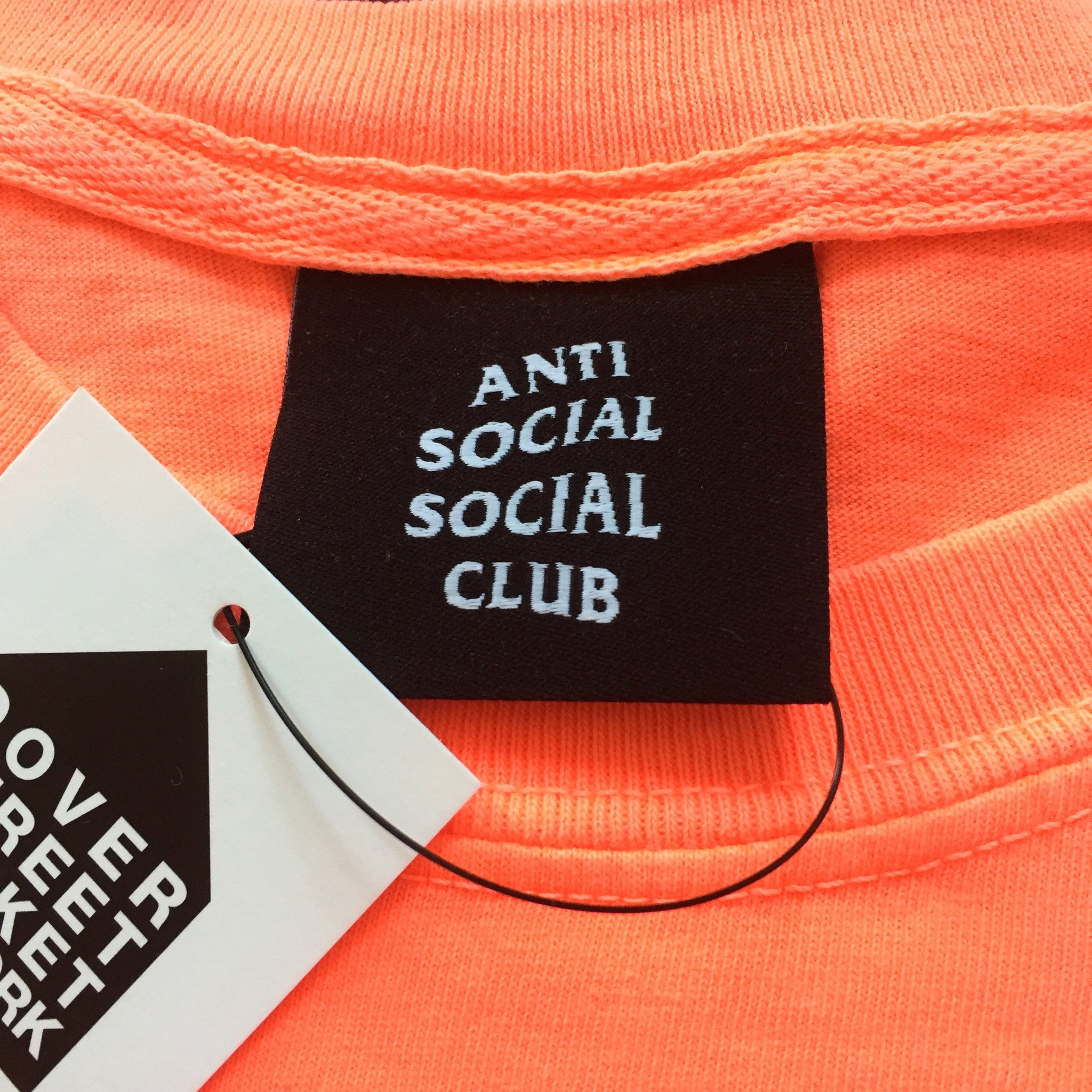 AntiSocial Social Club - 'Foreshadow' Embroidered T-Shirt
