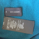 Tom Ford - Turquoise 100% Cashmere Sweatshirt