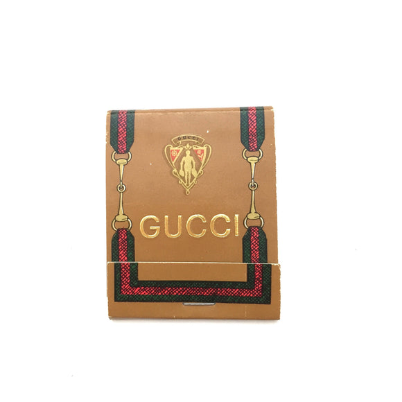 Gucci - Vintage Matchbook