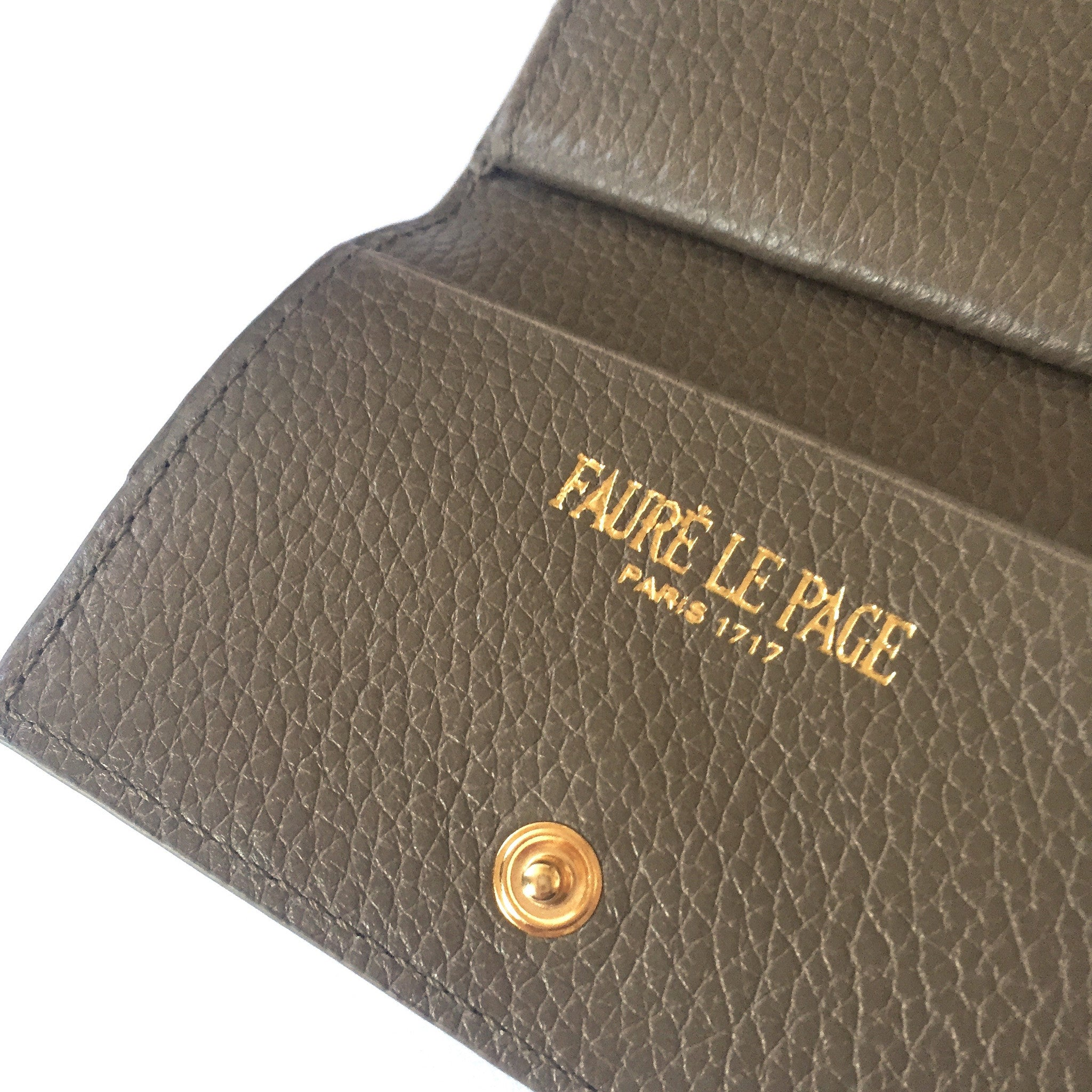 Faure Le Page - Walnut Brown PC Parade Wallet