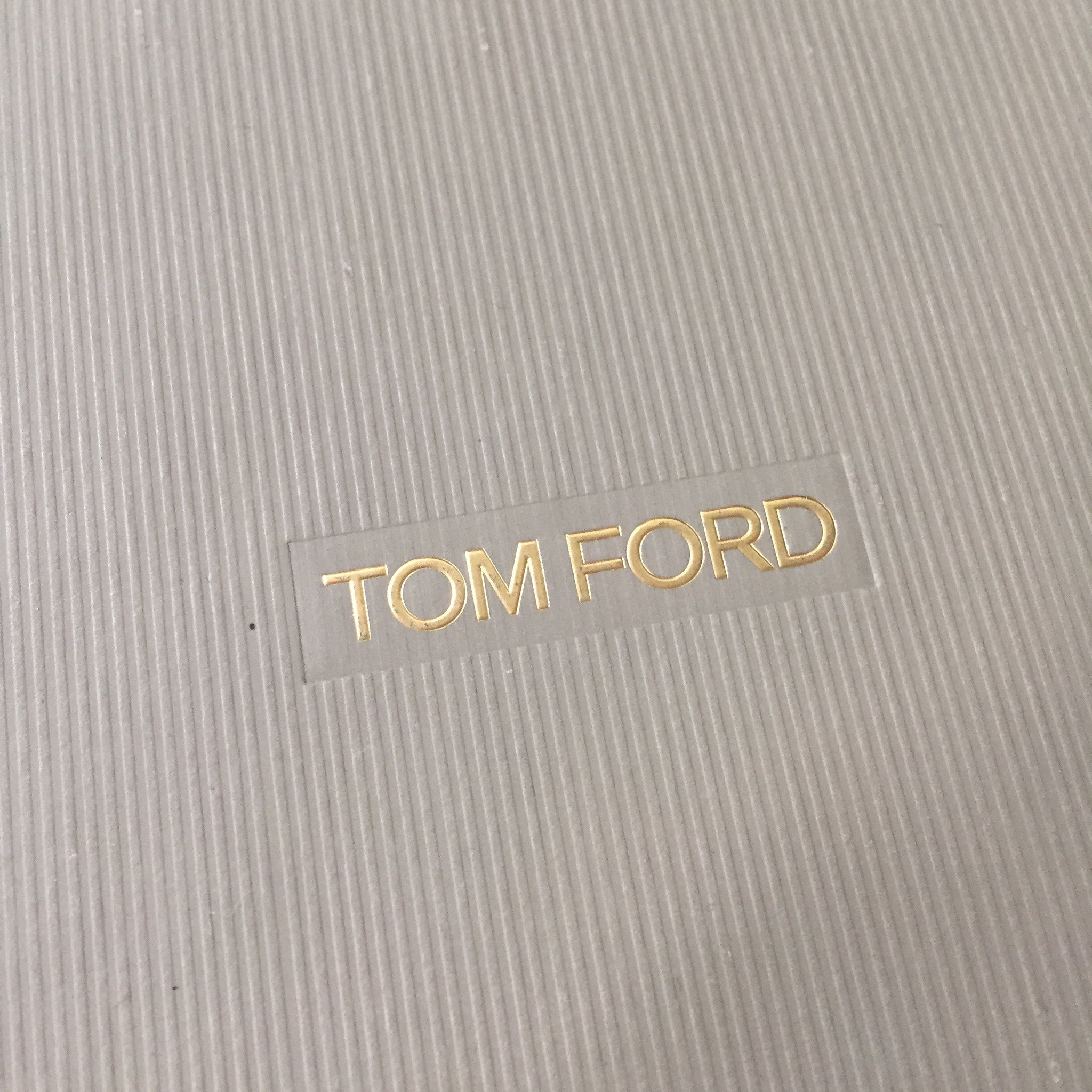 Tom Ford - Gold Feather Pendant Chain Necklace