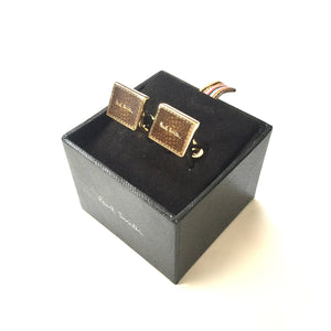 Paul Smith - Inset Logo Cufflinks