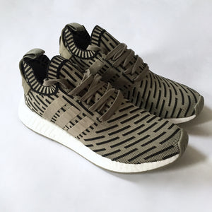 finest selection 5715e 97157 Adidas - NMD R2 PK Olive Green