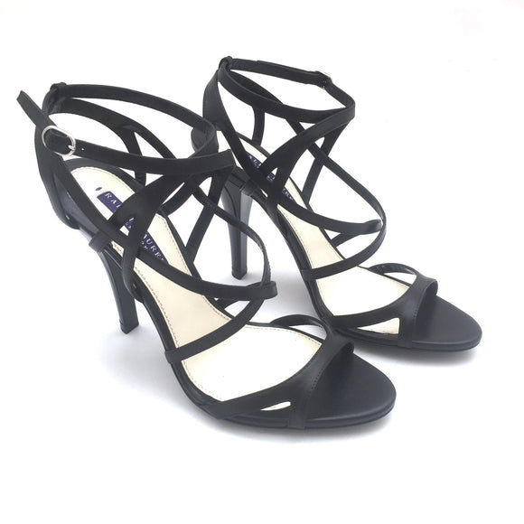 Ralph Lauren - Black Leather 'Blienna' Heels