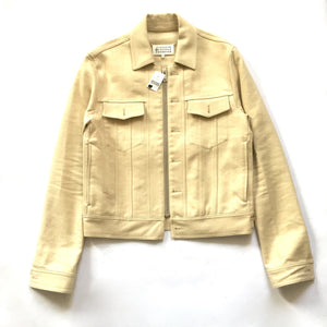 Maison Margiela - Beige Denim Trucker Jacket