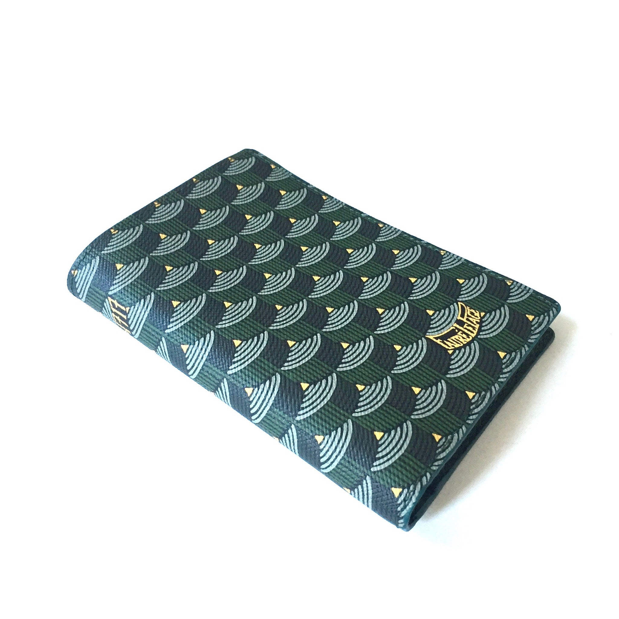 Faure Le Page - Empire Green 8CC Bifold Wallet