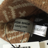Comme des Garcons - Tan Stocking Knit Beanie