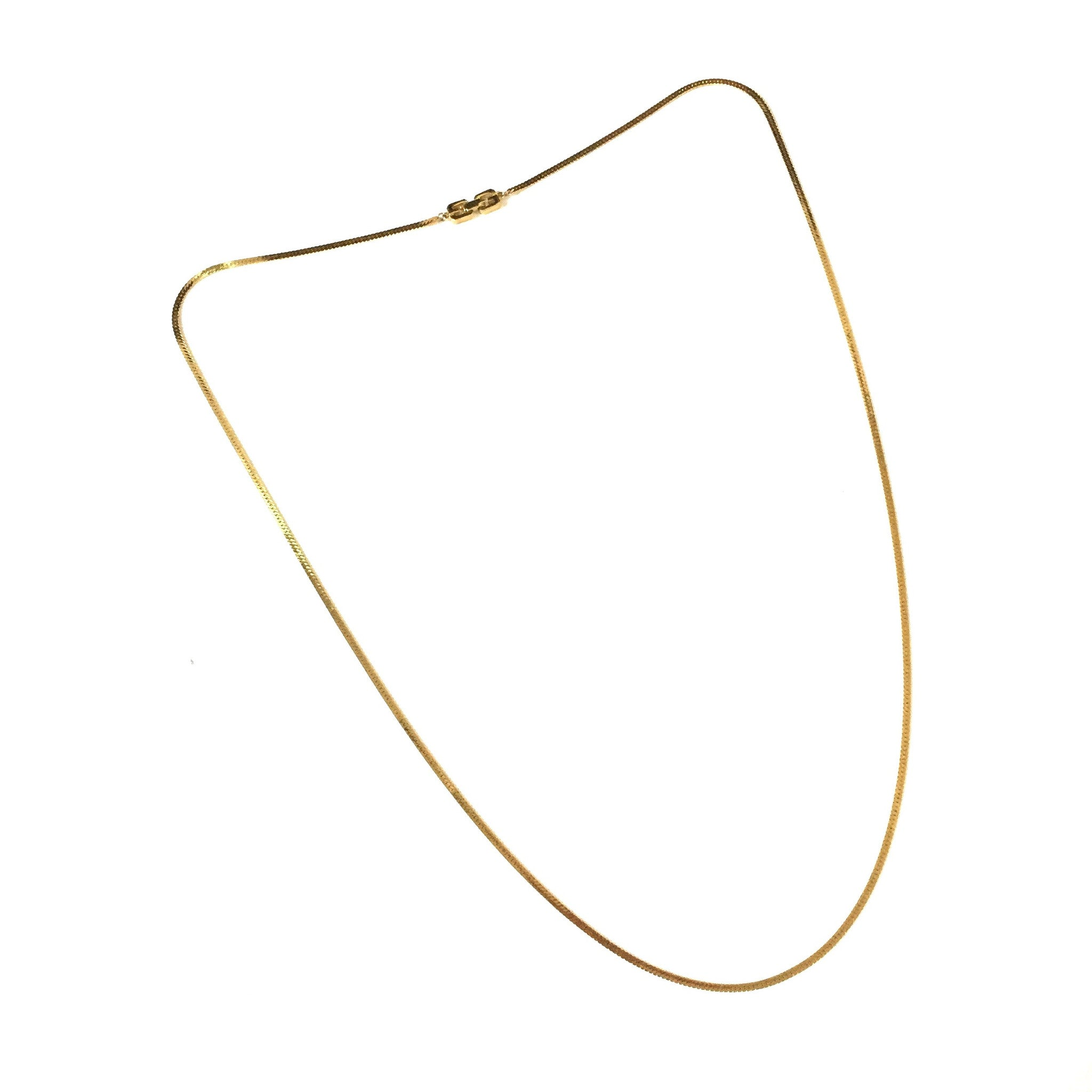 "Givenchy - 36"" Gold Chain Necklace"