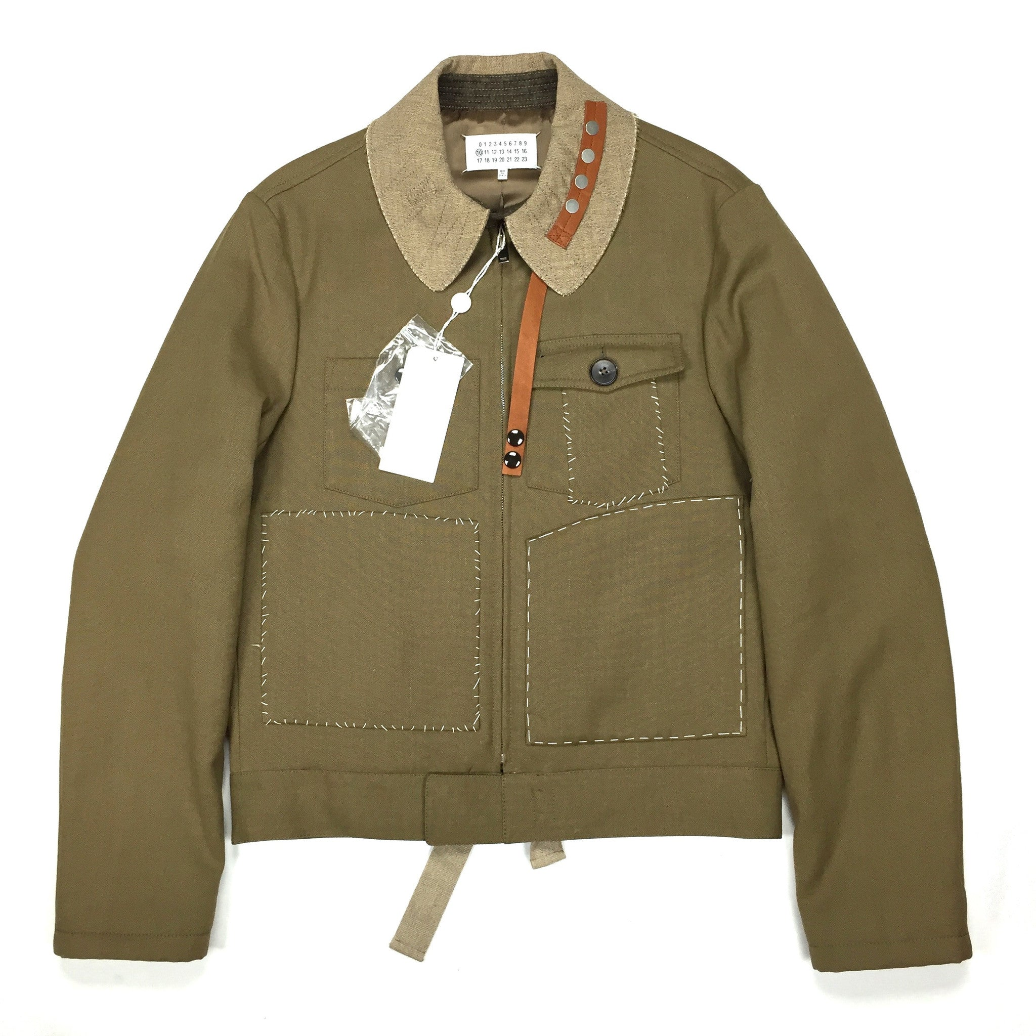 Maison Margiela - Surgery Stitch Military Jacket