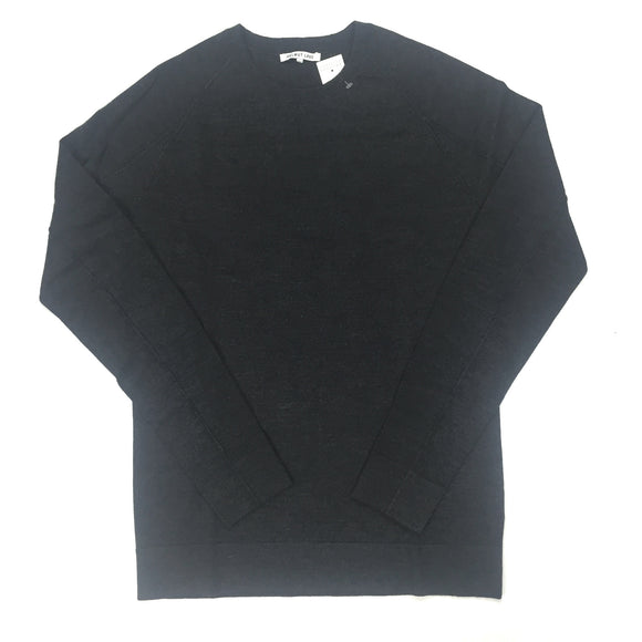Helmut Lang - Charcoal Wool Crewneck Sweater