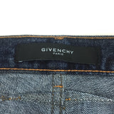 Givenchy - Coated Blue Denim Jeans