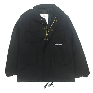 Supreme x Slayer - Black M-65 Eagle Jacket
