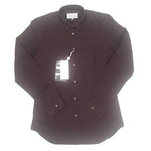 Maison Margiela - Cabernet Red Button Down Shirt