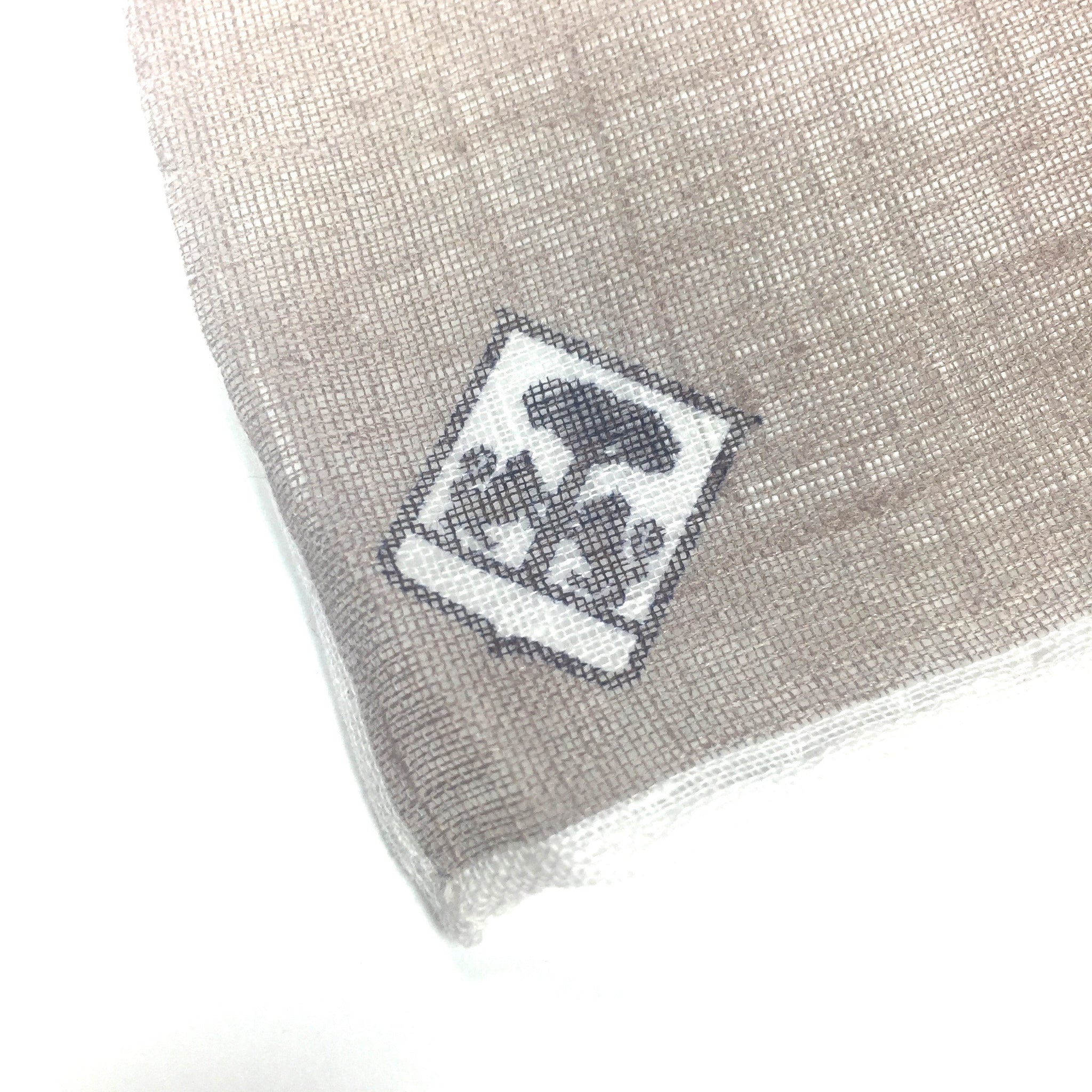 Corneliani - Beige Linen Pocket Square