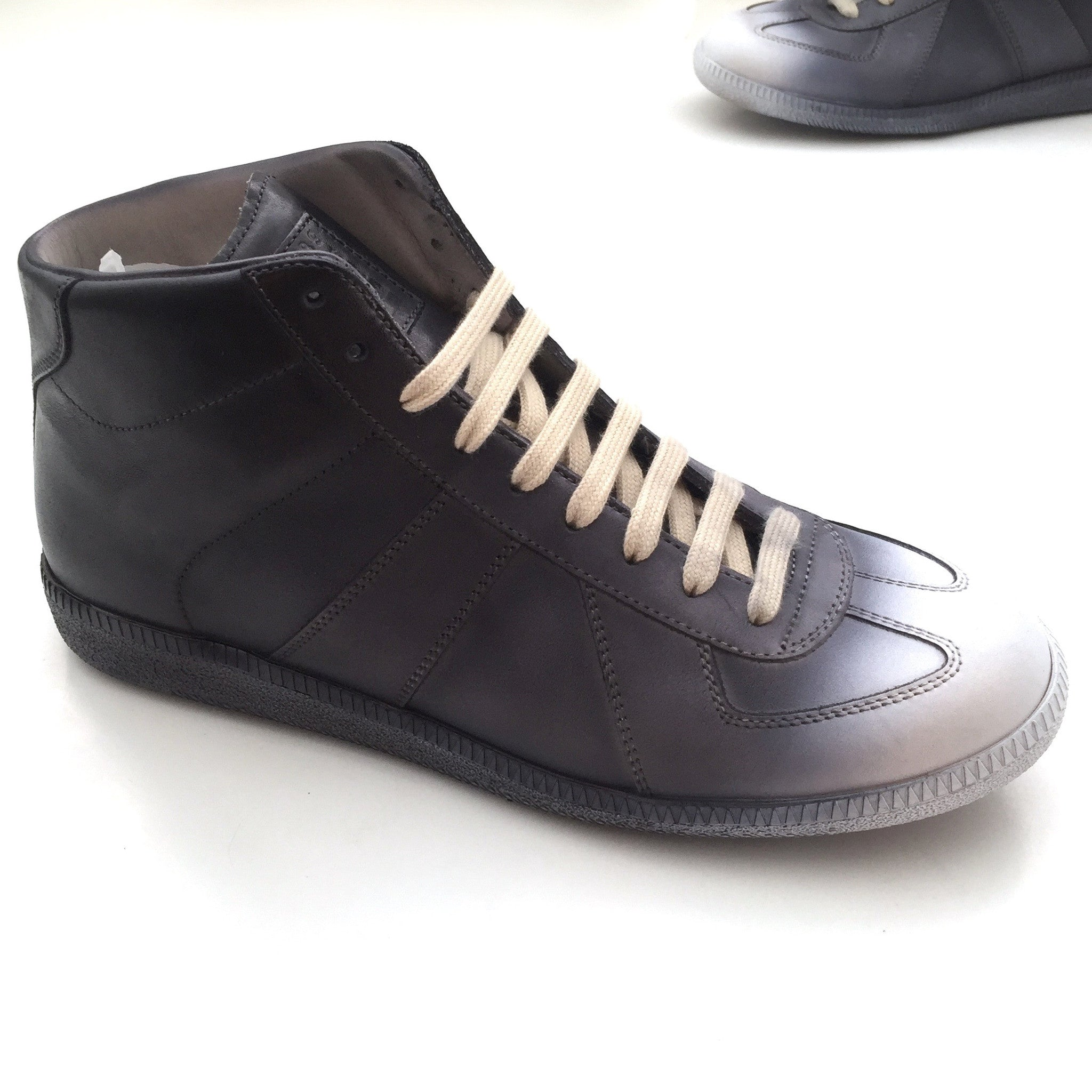Maison Margiela - Black & White Degrade Sneakers