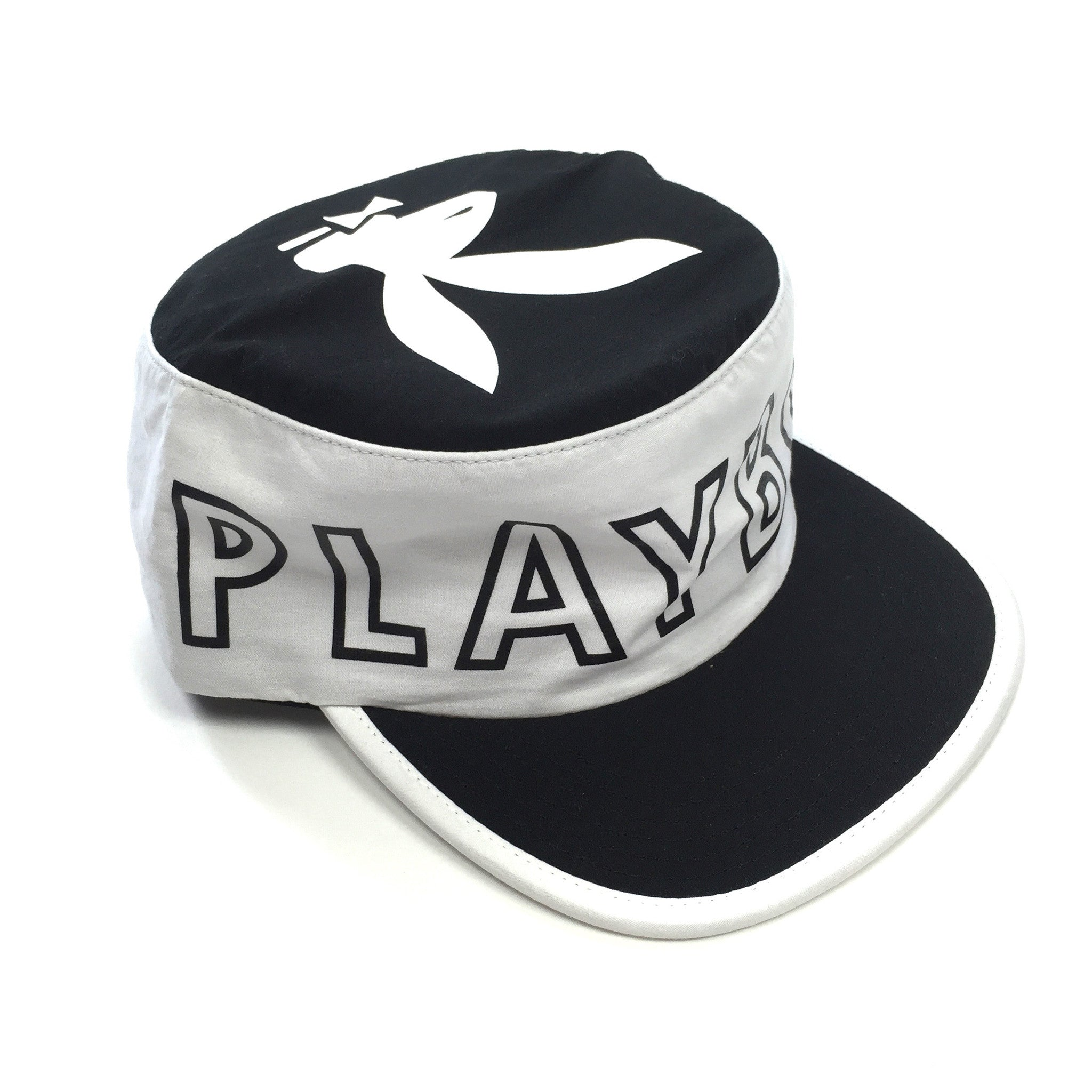 Supreme x Playboy - Black & White Pillbox Hat