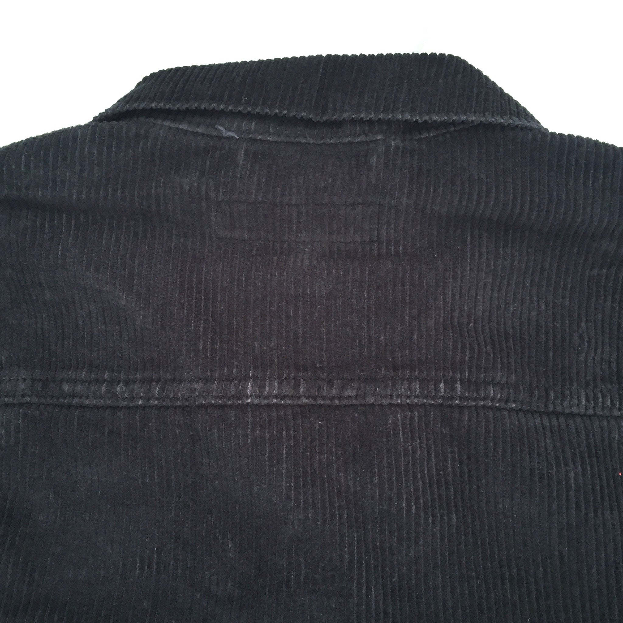 Gosha Rubchinskiy x Levi's - Black Logo Embroidered Trucker Jacket
