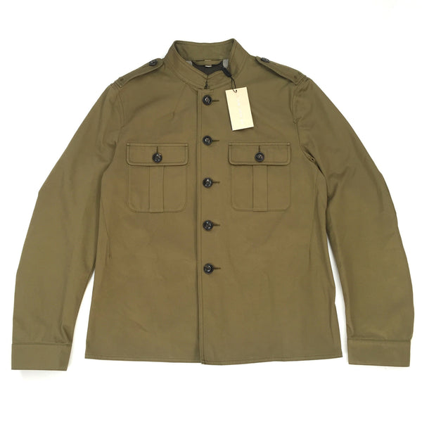 Burberry - Olive Twill Military Field Jacket