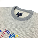 Noah - Gray Retro Logo Sweatshirt