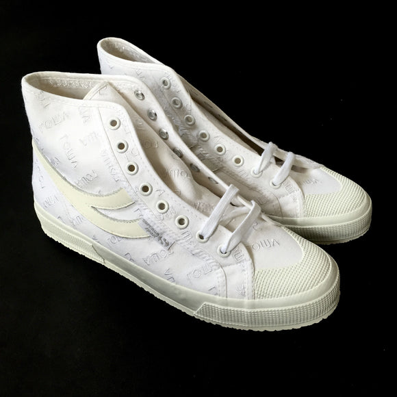 Gosha Rubchinskiy x Superga - White High Top Sneakers
