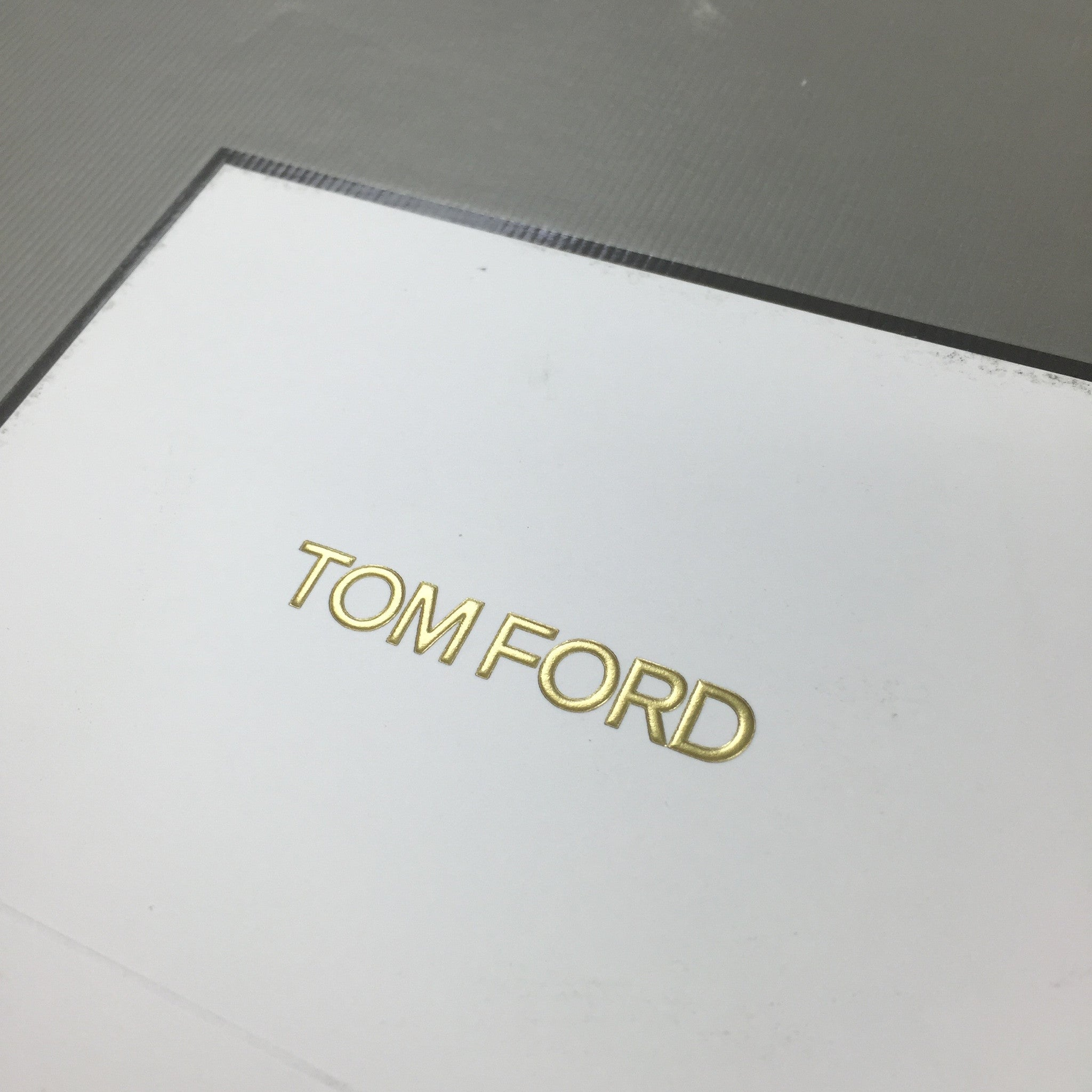 Tom Ford - White Leather High Top Sneakers