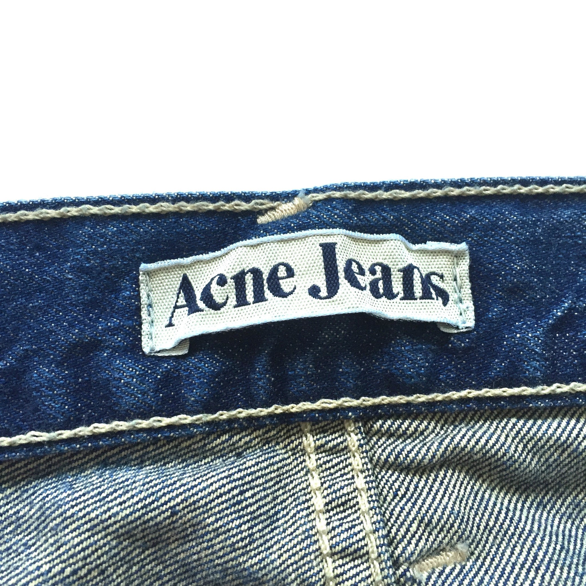 Acne - Dark Blue Denim Jeans
